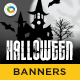 HTML5 Halloween Banners - GWD - 7 Sizes