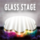 Glass Stage Background