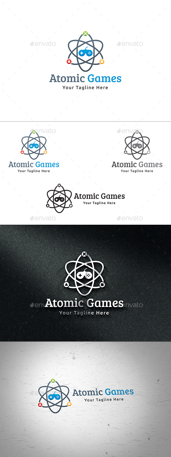 Atomic Games Logo