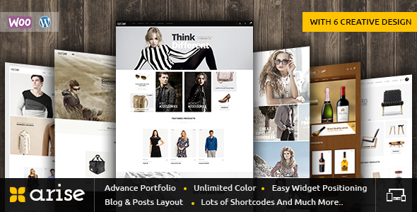 Arise - WooCommerce Responsive Theme