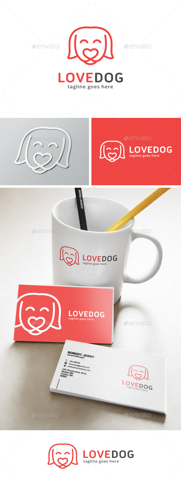 Love Dog Logo