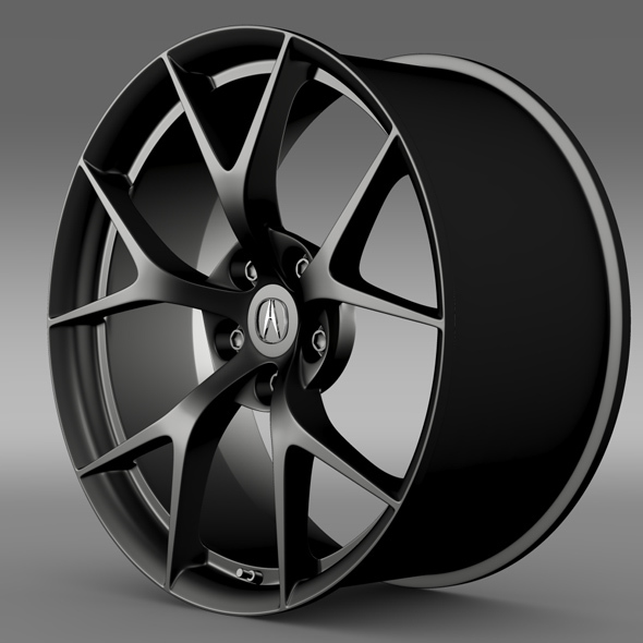 Acura NSX rim  2015 - 3DOcean Item for Sale