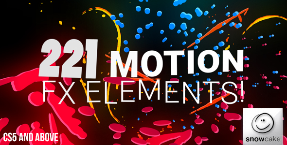 221 Motion FX Elements Pack
