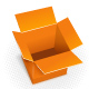 Orange box - GraphicRiver Item for Sale