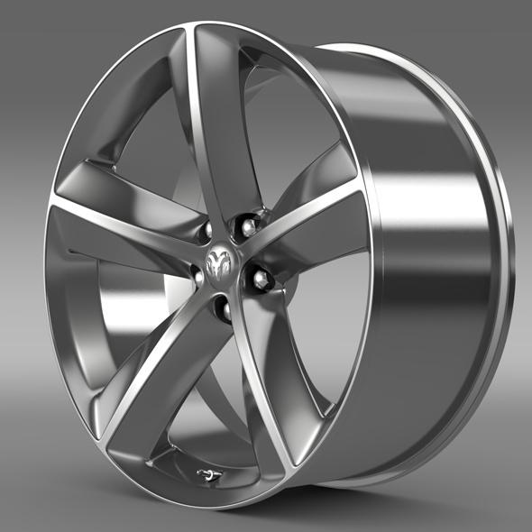 Dodge Challenger SRT8 rim - 3DOcean Item for Sale