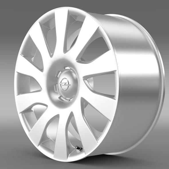 Opel Vivaro Van rim 2015 - 3DOcean Item for Sale