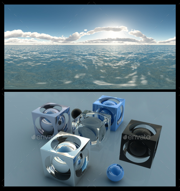 Ocean Bright Day 6 - HDRI - 3DOcean Item for Sale
