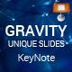 Gravity Keynote Presentation Template