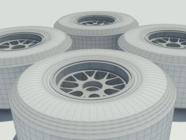 3DOcean Pirelli F1 Tyre 1333477