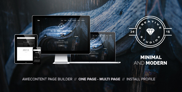 Hero - Minimal Multipurpose Portfolio Themes