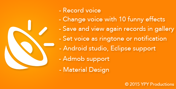 CodeCanyon Funny Voice Voice Changer 13244948
