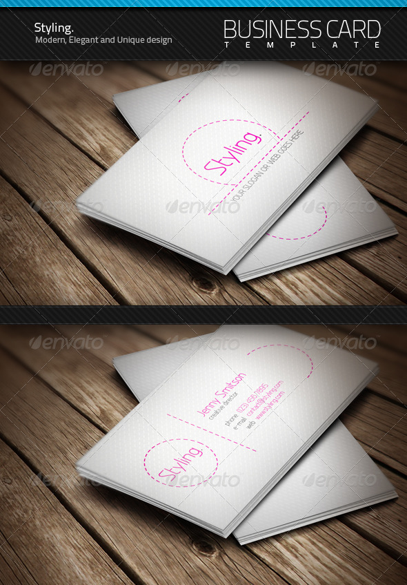 Styling Business Card - Creative Business Cards
