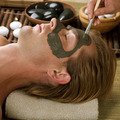Spa. Handsome Man With A Mud Mask On His Face - PhotoDune Item for Sale