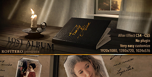 After Effects Project - VideoHive Lost Album 1333830