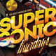 Supersonic Saturday / Club Flyer