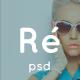 Réveille - eCommerce PSD Template