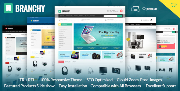 Branchy - Opencart Responsive Theme