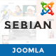 ZT Sebian Multi-Purpose Joomla Template  (Joomla)