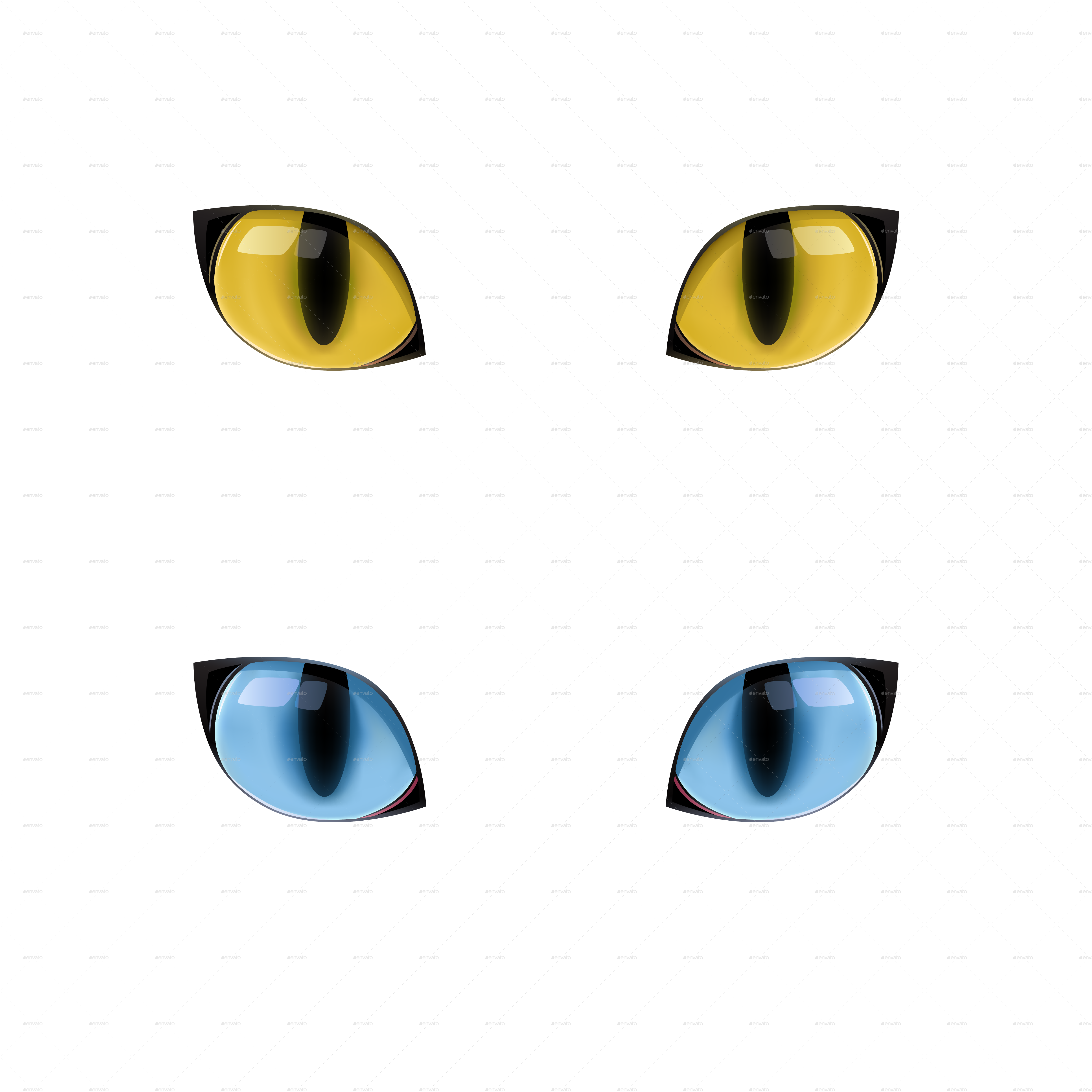 Blue Cat Yellow Eyes Technology