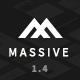 Massive - Responsive Multi-Purpose HTML5 Template - ThemeForest Item for Sale