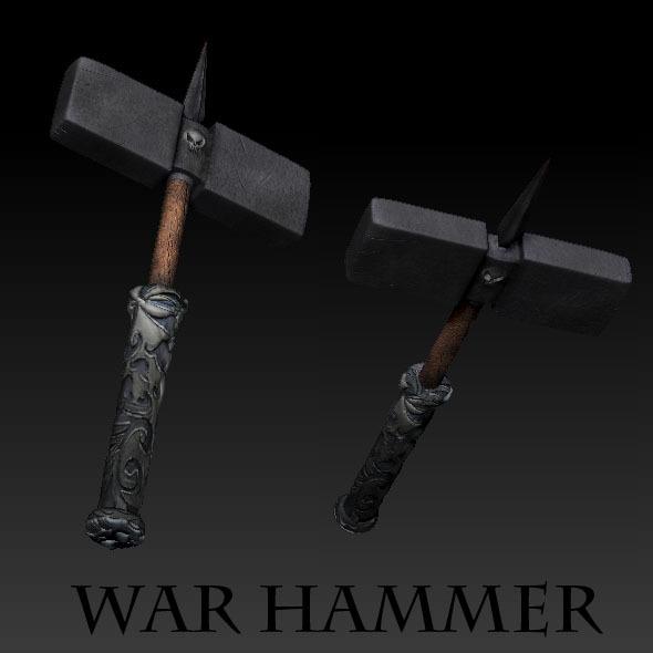 3DOcean War Hammer 1335790
