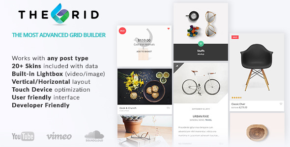 The Grid – Responsive Grid Builder for WordPress