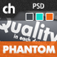 PHANTOM - Climatic & Functional PSD Template - ThemeForest Item for Sale