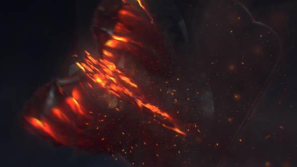 VideoHive Fire Dragon Logo 13336634