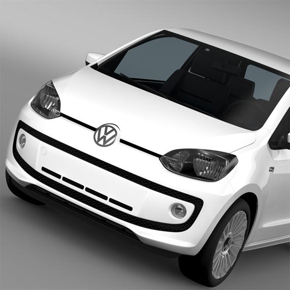 VW UP 3 door 2015 - 3DOcean Item for Sale