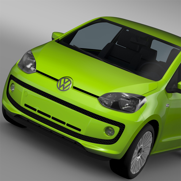 VW UP EcoFuel 3Door 2015 - 3DOcean Item for Sale