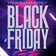 Black Friday Party Flyer Template