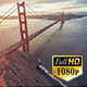 San Francisco Golden Gate Bridge Aerial