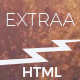 Extraa - Creative Minimal HTML Template - ThemeForest Item for Sale