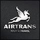 Air Trans - Travel Logo