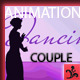 Dancing Couple Silhouettes - ActiveDen Item for Sale