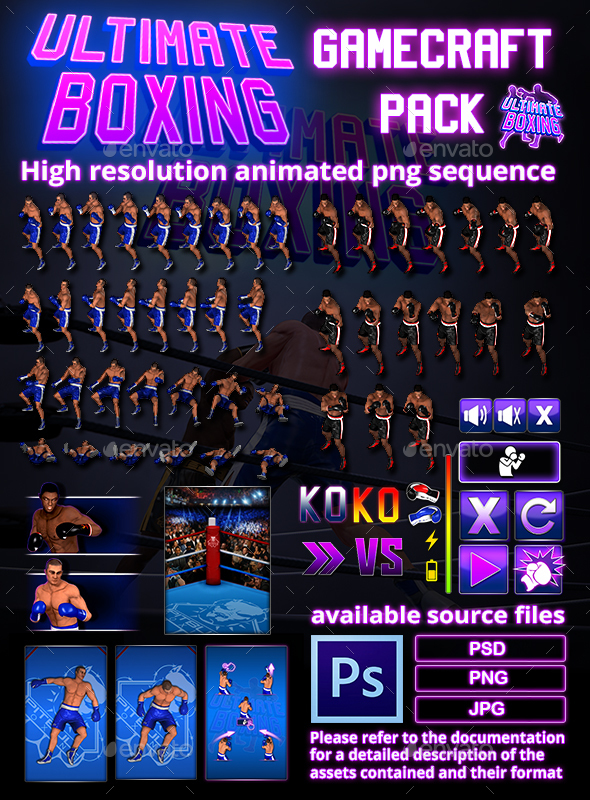 Ultimate Boxing Game Assets (Game Assets)