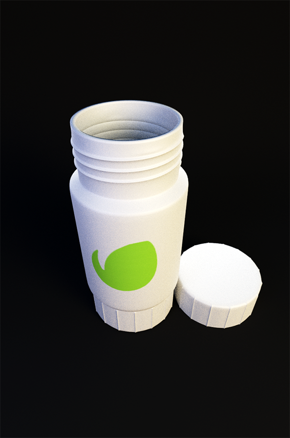 Medicine Bottle - 3DOcean Item for Sale