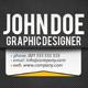 BlackDot  Business Card - GraphicRiver Item for Sale
