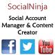 Social Ninja – Social ID Manager & Content Creator (Social Networking) Download