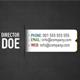 BlackDot Business Card v2 - GraphicRiver Item for Sale