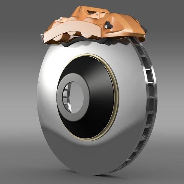Brakedisc Brembo 3 - 3DOcean Item for Sale