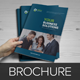 Corporate Finance Bifold Brochure Template v5