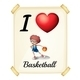 A Poster Showing the Love of Basketball