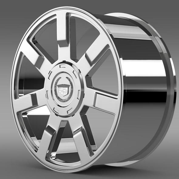 Cadillac Escalade esv 2wd1 rim - 3DOcean Item for Sale