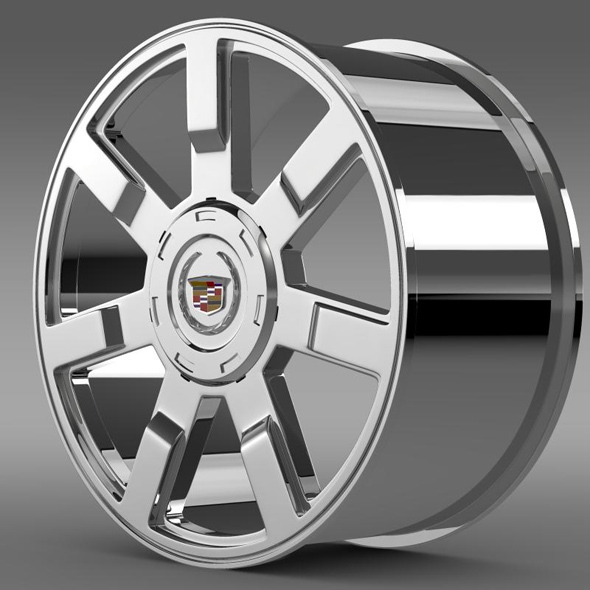Cadillac Escalade esv 2wd2 rim - 3DOcean Item for Sale
