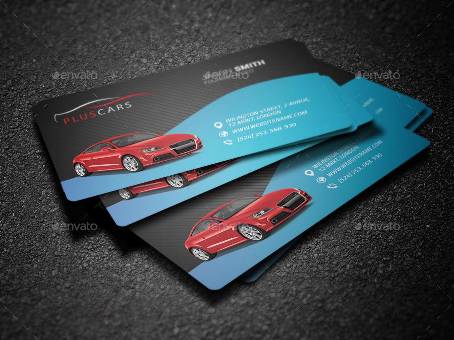01 Rent A Car Business Card Preview.jpg 02 Rent A Car Business Card ...