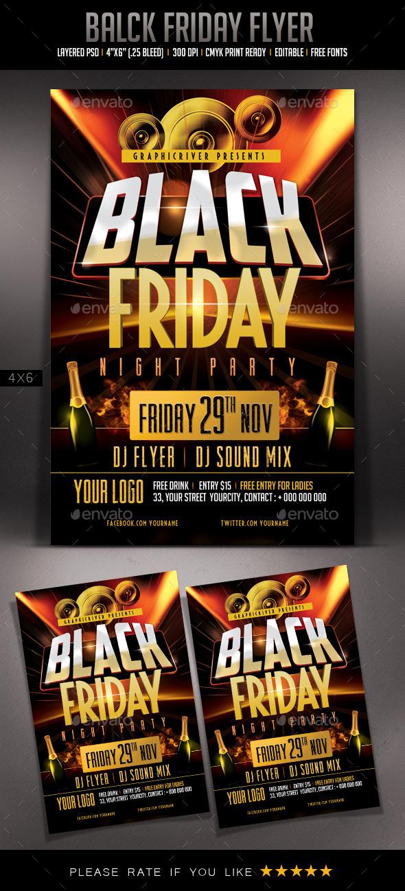 Black Friday Flyer