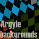 Argyle Texture Backgrounds - GraphicRiver Item for Sale