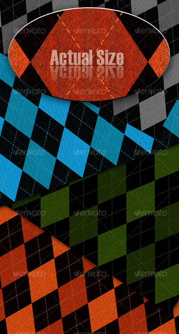 Argyle Texture Backgrounds