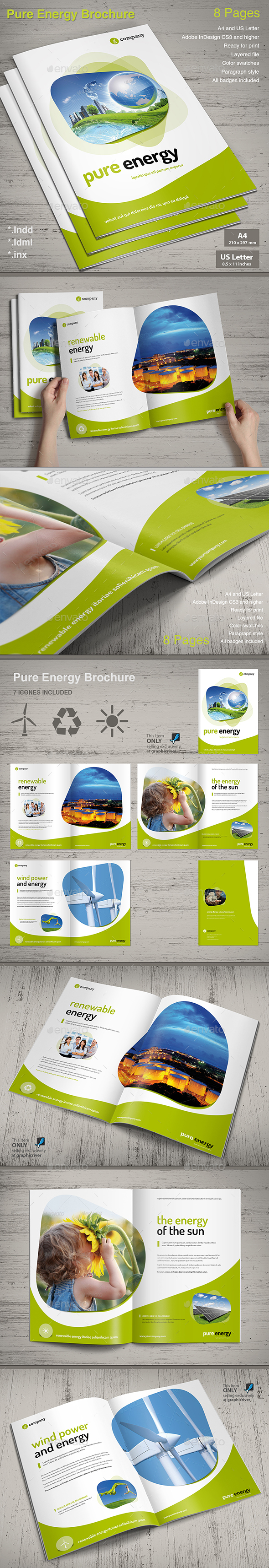 Preview pure energy brochure